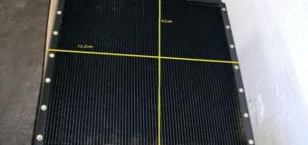 Радиатор новый, размеры 92 см / 72,5 см