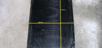 Радиатор новый, размеры 85 см / 56 см