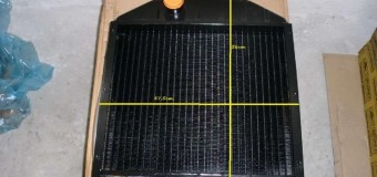 Радиатор новый, размеры 56 см / 47,5 см