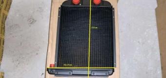 Радиатор новый, размеры 55 см / 43,5 см