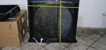 Радиатор новый, размеры 94 см / 95,5 см